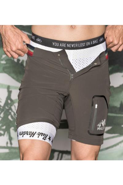 Maloja FalcunM. Underpants 1/2 Herren Performance Polsterunterziehhose