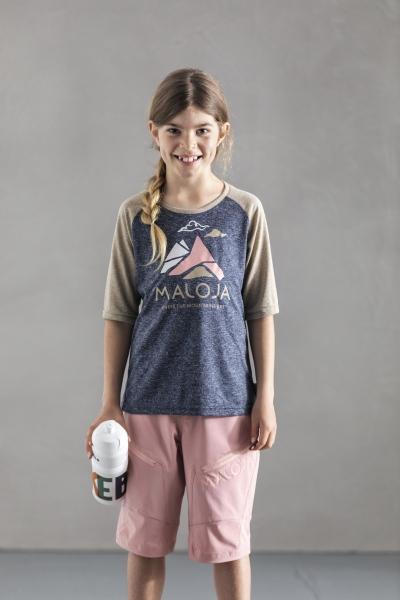 Maloja ValspregnaG. 3/4 Sleeve Multisport Jersey Kinder