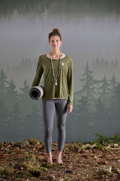 Maloja HerzblattM. Yoga Longsleeve