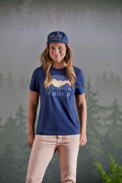 Maloja LeinblattM. T-Shirt