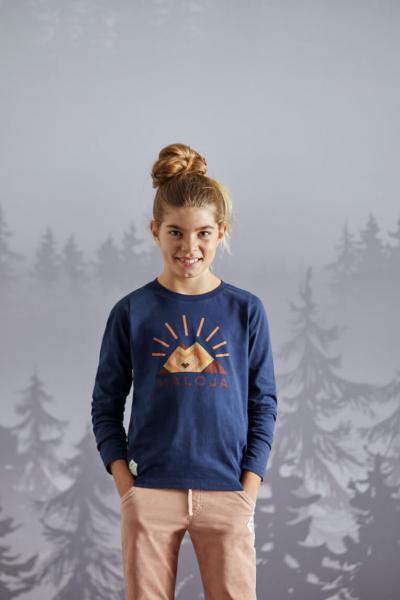 Maloja SchneeblattG. Kinder Longsleeve