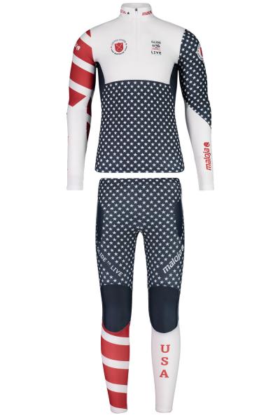 Maloja CalgaryM. Suit USMerch2018 U.S. Biathlon Race Suit