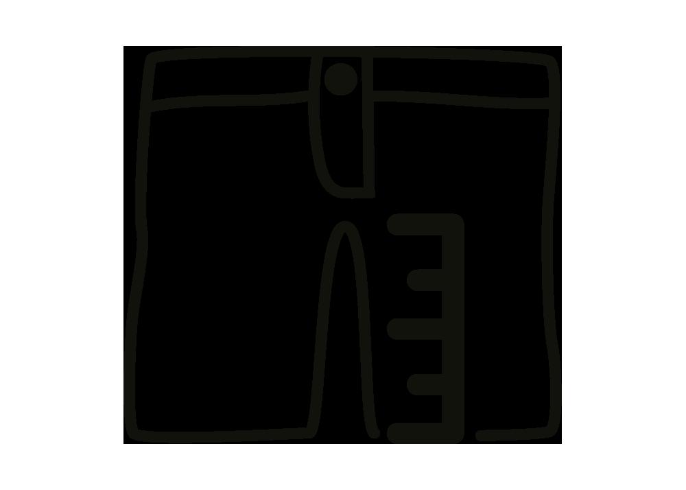 Inseam Length 27 cm
